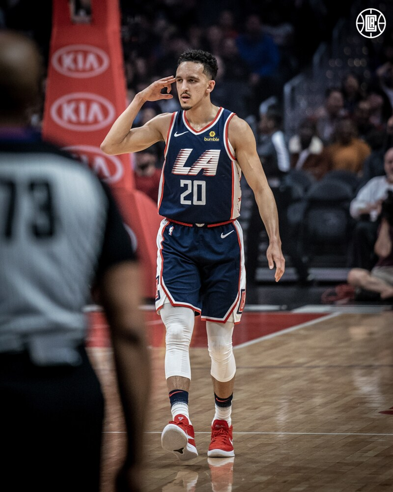 2019-2020 LA Clippers Check-In: Landry Shamet