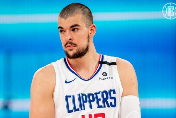 Ivica Zubac LA Clippers