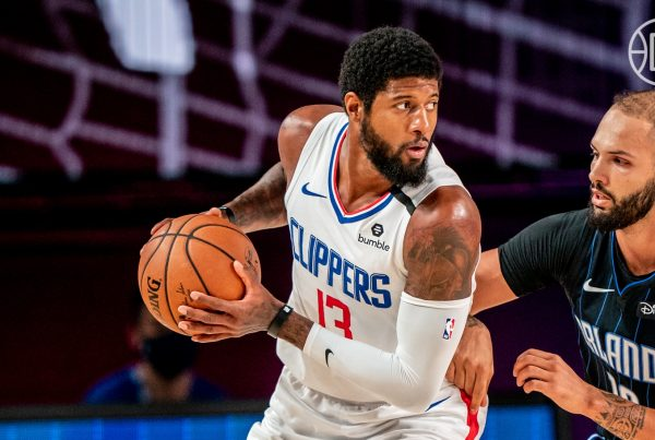 Paul George Evan Fournier LA Clippers Orlando Magic