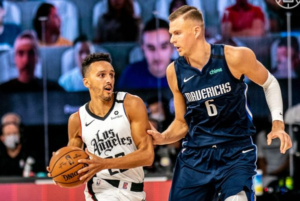 LA Clippers Dallas Mavericks Landry Shamet Kristaps Porzingis