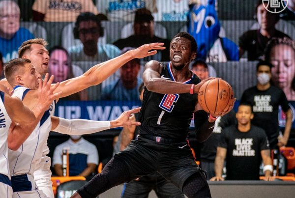 Reggie Jackson LA Clippers Dallas Mavericks NBA Playoffs Game 2
