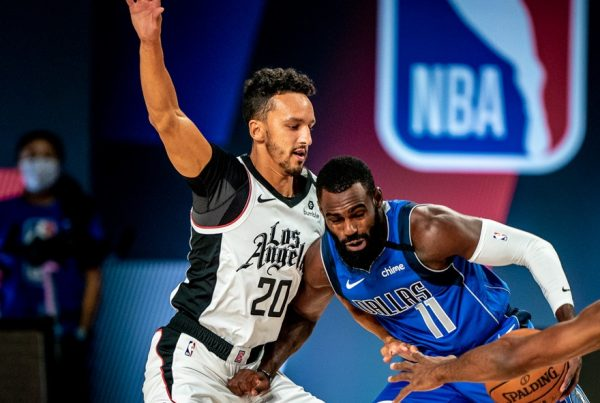 Landry Shamet LA Clippers Dallas Mavericks NBA Playoffs Game 3