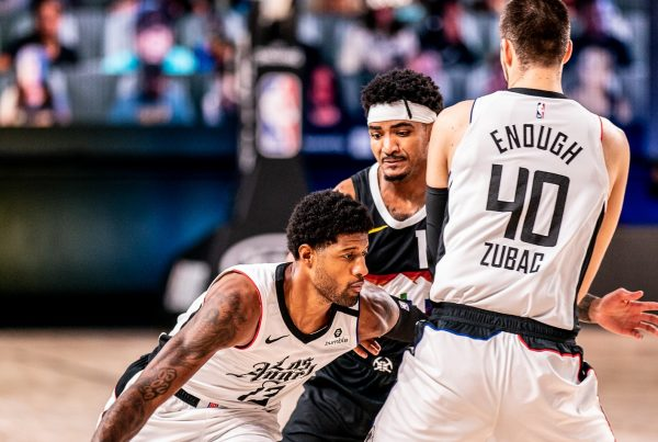 Paul George Gary Harris Ivica Zubac LA Clippers Denver Nuggets NBA Playoffs Game 3