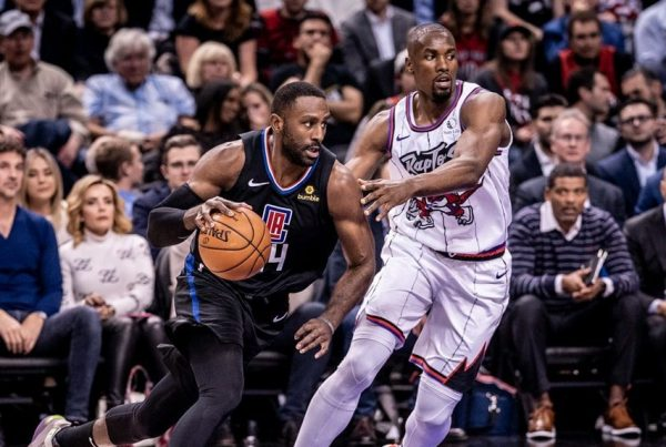LA Clippers Patrick Patterson Toronto Raptors Serge Ibaka