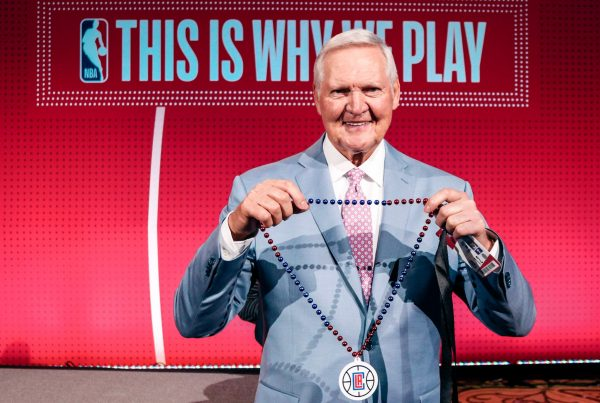 Jerry West LA Clippers NBA Draft Lottery