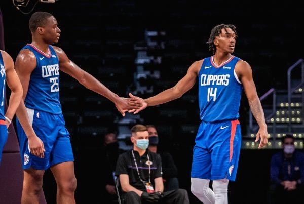 Mfiondu Kabengele Terance Mann LA Clippers Preseason Utah Jazz