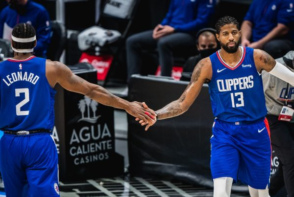 LA Clippers Kawhi Leonard Paul George
