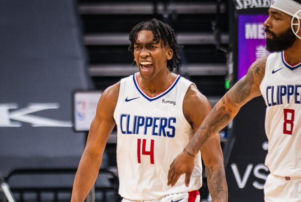 LA Clippers Sacramento Kings Terance Mann Marcus Morris