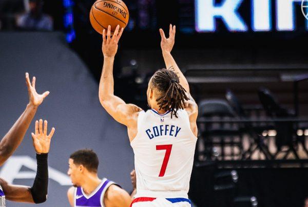 LA Clippers Sacramento Kings Amir Coffey