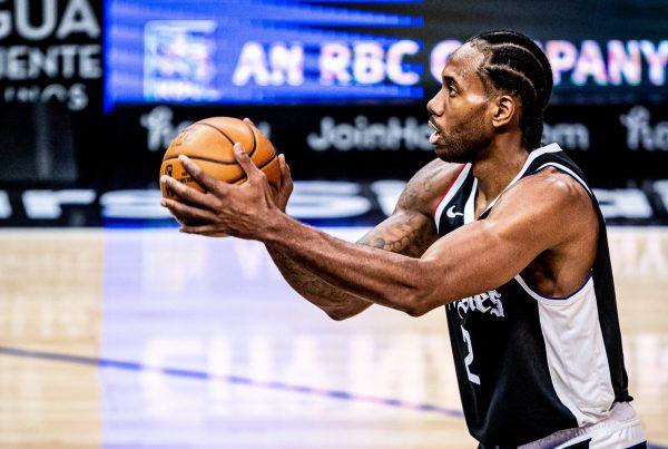 LA Clippers Kawhi Leonard