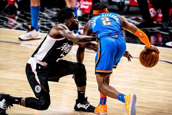 LA Clippers Oklahoma City Thunder Patrick Beverley Shai Gilgeous-Alexander