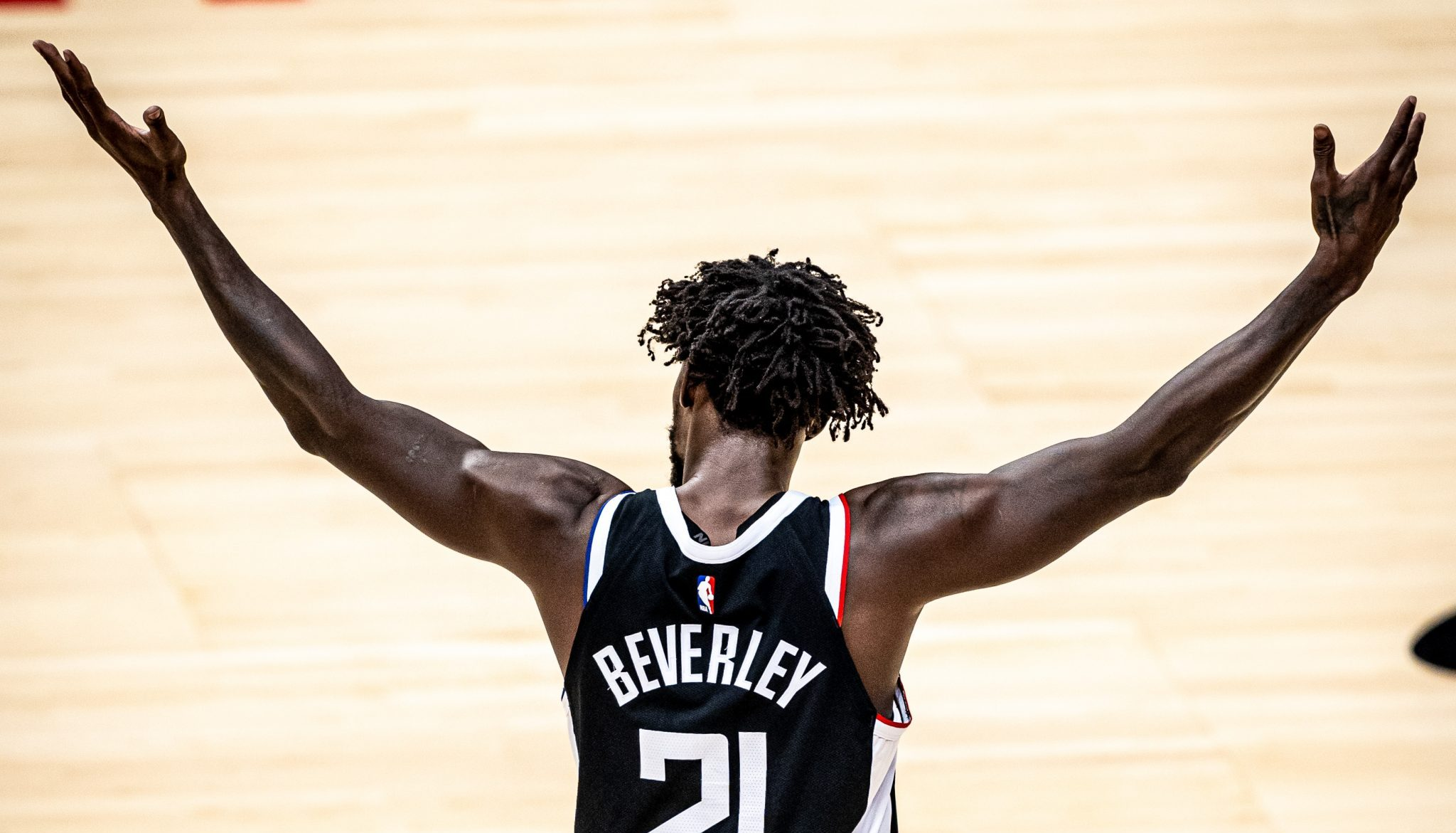 Patrick Beverley Out With Hand Fracture, Re-Evaluated in 3-4 Weeks