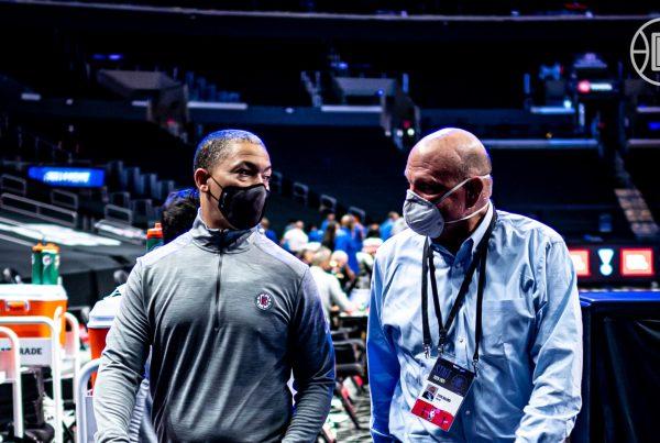 LA Clippers Steve Ballmer Ty Lue