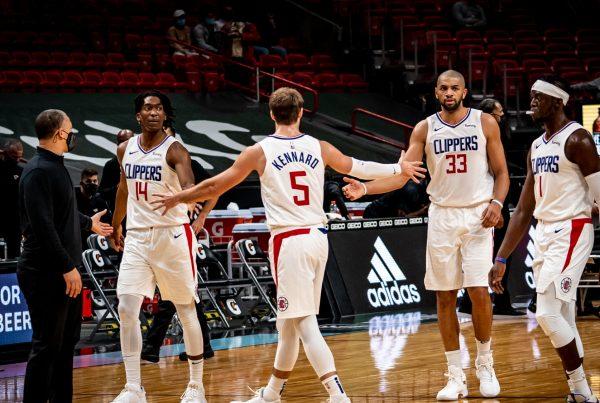 LA Clippers Miami Heat Ty Lue Terance Mann Luke Kennard Nicolas Batum Reggie Jackson