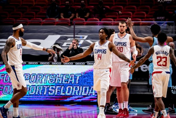 LA Clippers Miami Heat Marcus Morris Terance Mann Ivica Zubac Lou Williams