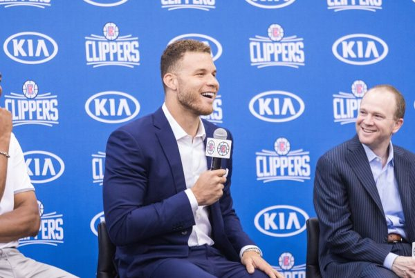 LA Clippers Doc Rivers Blake Griffin Lawrence Frank