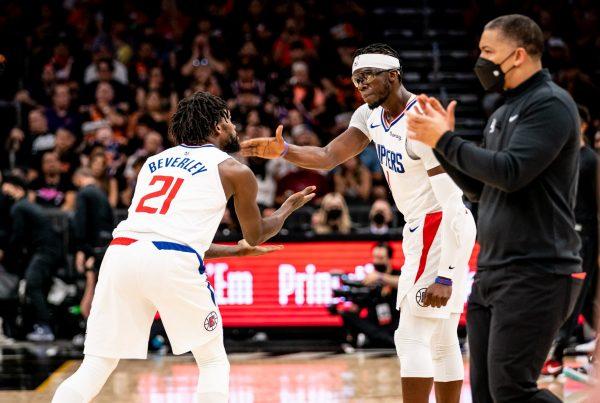 LA Clippers Phoenix Suns Western Conference Finals Patrick Beverley Reggie Jackson